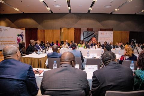 La présence des missions diplomatiques de la région et des partenaires techniques et financiers illustre l'importance du mandat de UNFPA @UNFPA WCARO