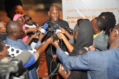 M. Mabingué Ngom directeur régional de l'UNFPA @UNFPA WCARO