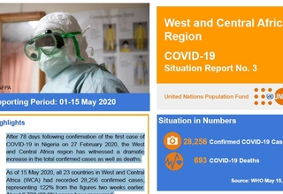 West and Central Africa Region COVID-19 Situation Report No. 3