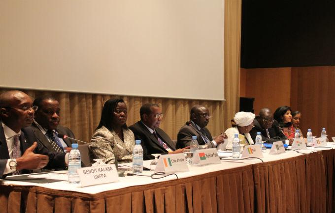 Conférence de presse des ministres