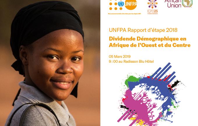 Lancement du Rapport Annuel 2018 de l'UNFPA Afrique de l'Ouest et du Centre.