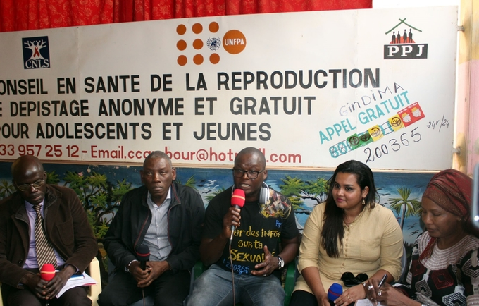 Youth Envoy Engages with Young People at Outreach Center in Mbour, Senegal