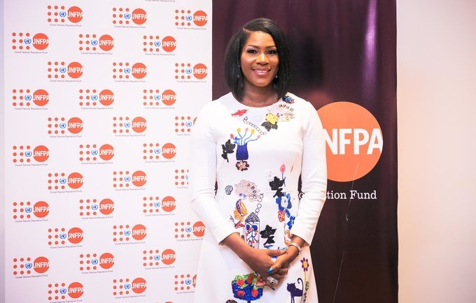 Nigerian Actress, Stephanie Linus named UNFPA Regional Goodwill Ambassador for West and Central Africa