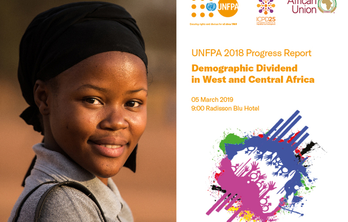 Launch of 2018 Progress Report on Demographic Dividend in West and Central Africa.