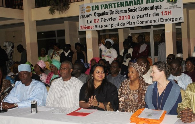 UNFPA WCARO | UN Youth Envoy rallies support for demographic