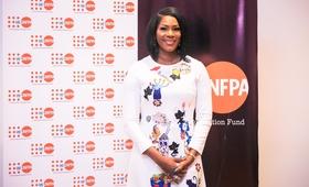 L'Actrice nigériane, Stephanie Linus, désignée Ambassadrice de bonne volonté de l'UNFPA pour l'Afrique de l'Ouest et du Centre