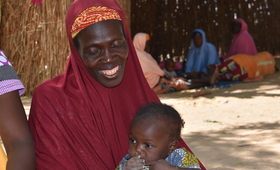 A woman at the health center waiting to be consulted. @UNFPA WCARO/Habibou Dia