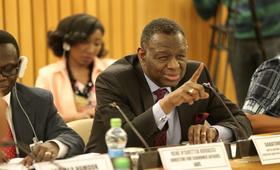 Le Directeur exécutif de l'UNFPA, Dr. Babatunde Osotimehin