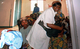 A woman hugs a health worker after her successful fistula repair surgery. ©UNFPA Cameroon