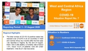 West and Central Africa Region COVID-19 Situation Report No. 7